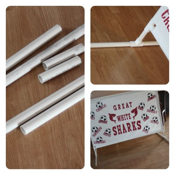 DIY Banner Stand