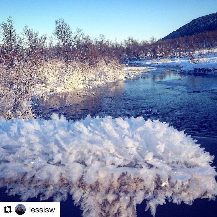 "Krystal klart. #reiseblogger #reisetips #reiseliv #reiseråd  #Repost @lessisw with @repostapp  ""Snow Crystals"" Location: River of Berg (Bergselva) close to Harstad City     #pictureoftheday #snowcrystals #ig_nordnorge #ig_northernnorway #river #visitharstad #fever_natura #natura_love_ #natura_stop #beauty_of__nature_"