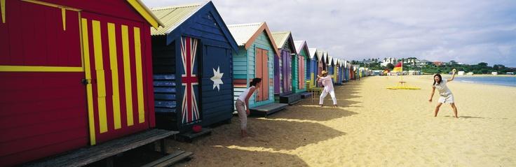 Melbourne, Victoria, Brighton beach