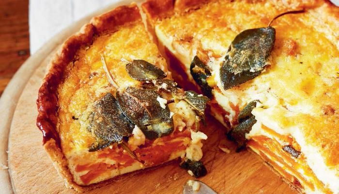 Squash, Brown Butter, and Sage Quiche | The Splendid Table