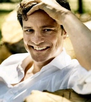 Colin Firth... Mr Darcy, Mark Darcy... whoever, whatever, any which way, I'm not fussy! LOL