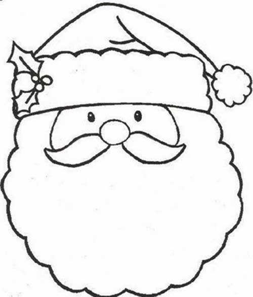25+ Melhores Ideias Sobre Papai Noel Para Colorir No