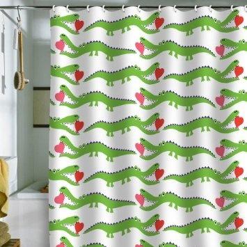 DENY Designs Andi Bird Alligator Love Shower Curtain