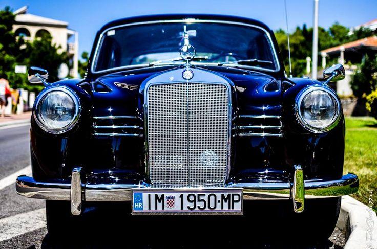 old car Mercedes 1950