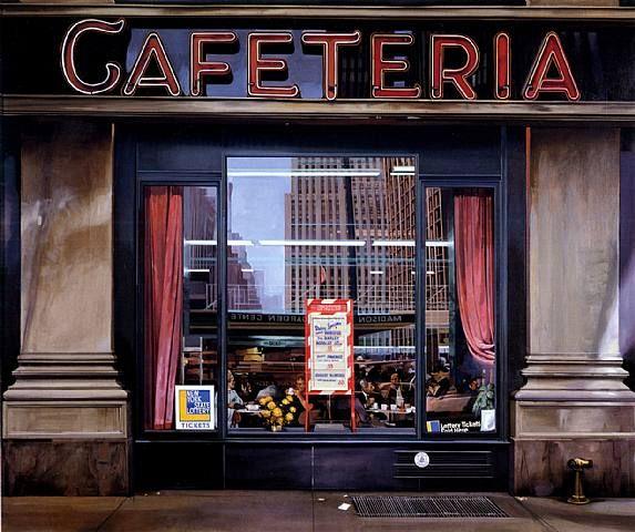 Richard Estes - Cafeteria (1970)