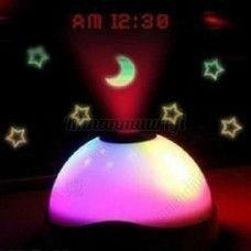 LED-projektori kello