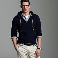 J. Crew Cashmere Hoodie: Dress Shirt, Men S Fashion, Mens Clothes, Cashmere Sweaters, Cashmere Hoodie, Die Mensstyle, Boy