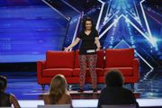 """Samantha Hess, Portland's """"professional cuddler,"""" turns up on the Season 10 premiere auditions of """"America's Got Talent."""" Her cuddling prowess wins her three judges' votes, good enough to move her foward."""