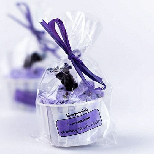 Lavender Fizzing  Bath Melts