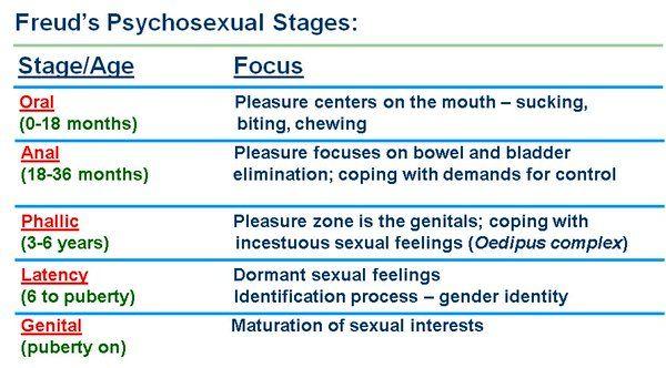 Image Result For Freud Psychosexual Stages  Bladder -3784