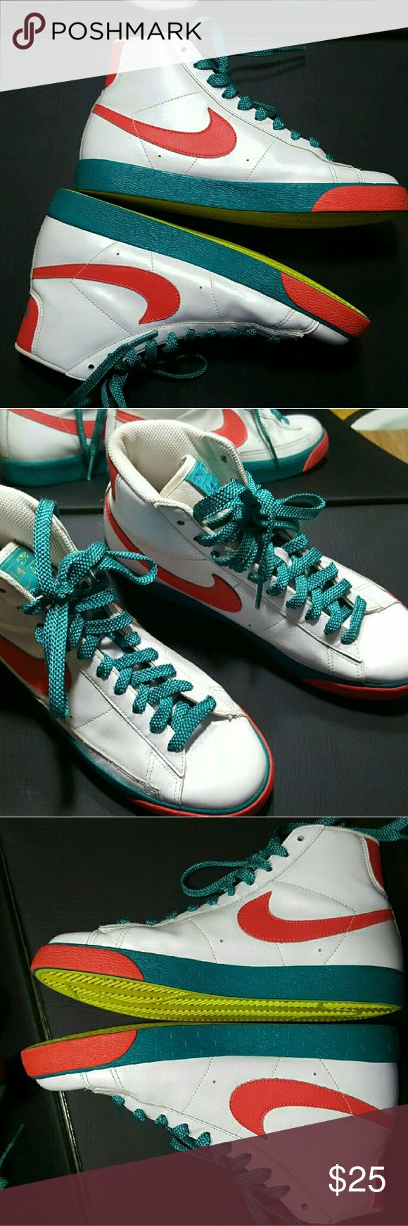 Rare vintage Nike hi tops In great pre owned condition Nike Shoes Sneakers