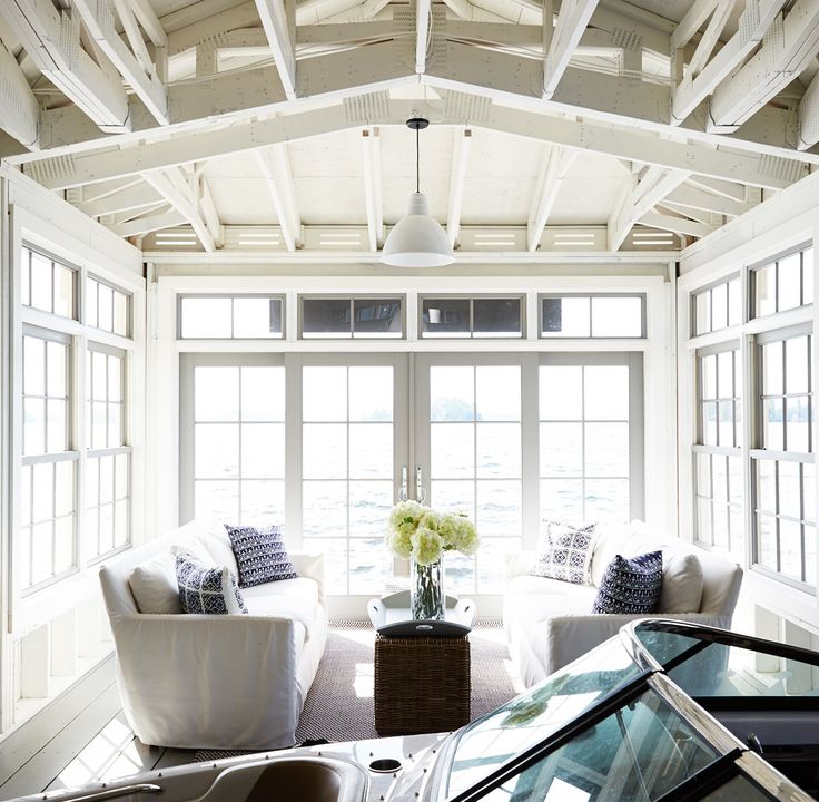 Bring The Shore Into Home With Beach Style Living Room: Boathouse / Dock Images On Pinterest