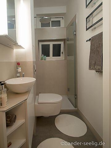 3 qm bad einrichten - Beispiele & Ideen - BAEDER SEELIG | Gäste wc ...