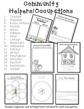 Worksheets Social Studies For Kindergarten Worksheets 1000 images about kindergarten social studies on pinterest community helper occupations packet studies