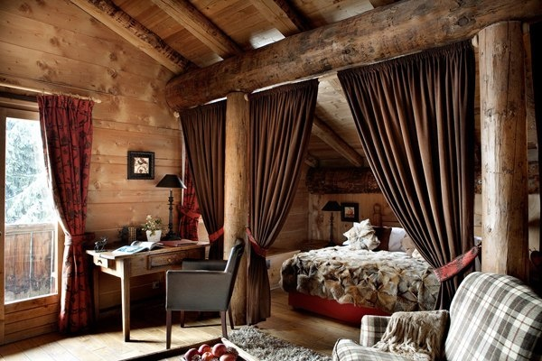 :): Ferm De, Dreams, Les Ferm, Rustic Cabin, Cabin Bedrooms, Master Bedrooms, French Alps, Chalets, De Mary