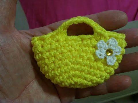 tutorial,come realizzare una mini borsetta #3. -borsette primavera- - YouTube