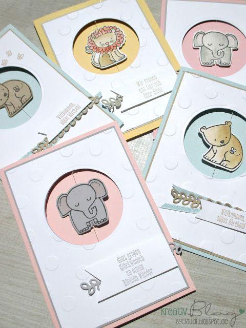 Kreativ Blog by Claudi: Tierische Grüße #3
