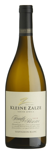 Kleine Zalze Family Reserve Sauvignon Blanc 2010, awarded the Trophy for Best Sauvignon Blanc at the Old Mutual Trophy Wine Show 2012, South Africa