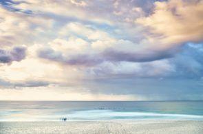 Bondi Beach, this morning, subtle hues