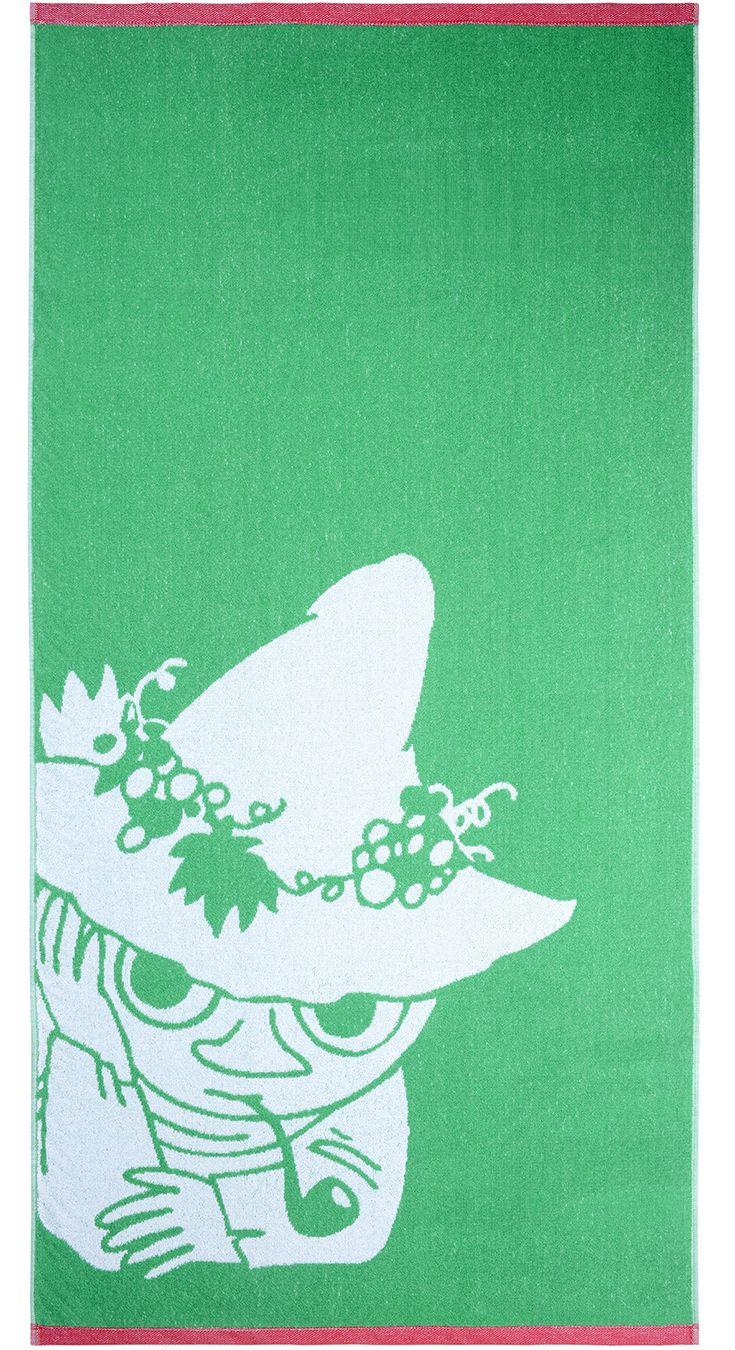Snufkin towel    Nuuskamuikkunen-pyyhe