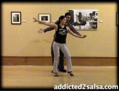 ▶ Salsa Dancing : Short Stride Salsa Latin Dance Move - YouTube