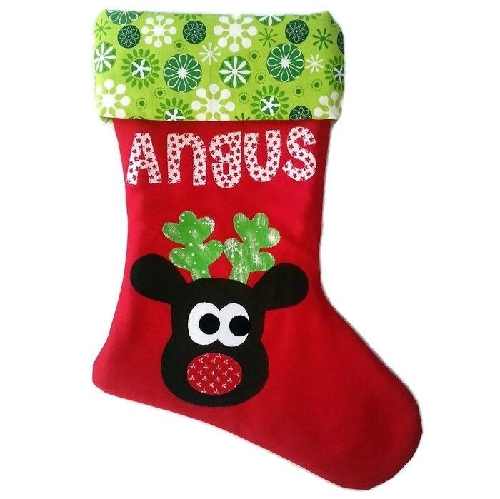 Personalised Christmas Stocking - pinned by pin4etsy.com