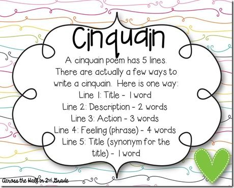 90 best images about teaching poetry on Pinterest | Different ...