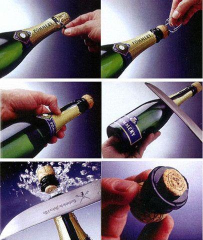 Have you ever came across the art of champagne sabering? If you are wondering how to open a bottle of champagne using sabrage method or champagne sabering you can learn this technique here. #sabrage #saberingchampagne #champagnesabre #champagnesword
