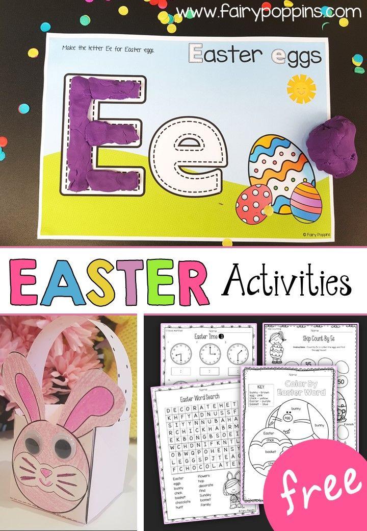 Easter Activities For Kids Easter Craft Ideas Pinterest Easter