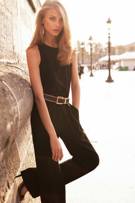 : Classic Summer, Classic Jumpsuits, Mango Spring Summ, 2012 Lookbook, Leather Belts, Spring 2012, Black Jumpsuits, Give Selezneva, Red Black