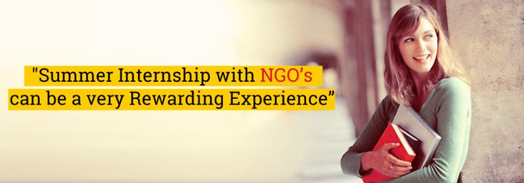 Summer Internship with NGO,s can be a very Rewarding experience. #Summer #NGO #Experience #Work #Learn #Blog #EduConnect