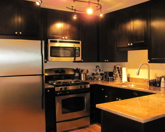 Magnificent Kitchen Cabinet Design magnificent kitchen cabinet malaysia kitchen designer malaysia Kitchen Design Contemporary Kitchen Design With Black Cabinets In Kitchen Also Stainless Cooker And Oven