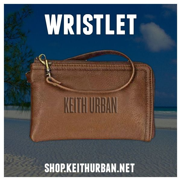 This leather wristlet is the perfect size for a night out & is available for $34.99! Shop now: http://shop.KeithUrban.net pic.twitter.com/JdBpaNaQwK