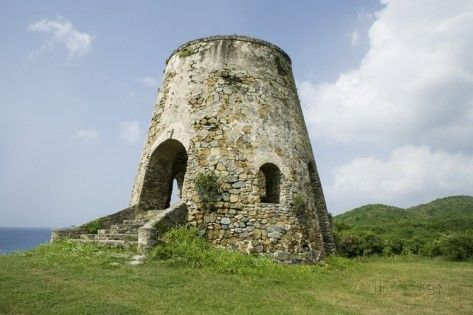 Sugar Mill in St. Croix Photographic Print by Macduff Everton at AllPosters.com