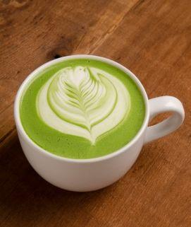 Didn't get enough heat this summer? Let Sweet Heat spice things up! -Smoking Gunpowder Green Tea Latte Courtesy of Torani