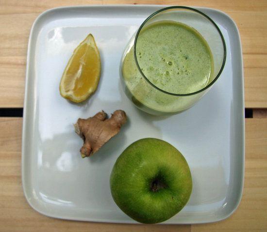 Detoxifying Apple Ginger Lemon Juice From Ritual Welness | POPSUGAR Fitness