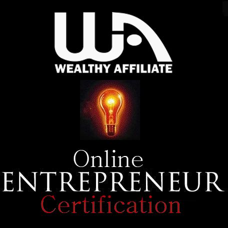 How Wealthy Affiliate Works - 4 Simple Steps:1.Choose an Interest,  2.Build a Website,  3.Attract Visitors,   4.Earn Revenue