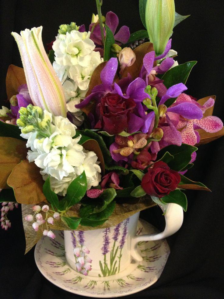 beautiful stocks vanda orchids and oriental lilys