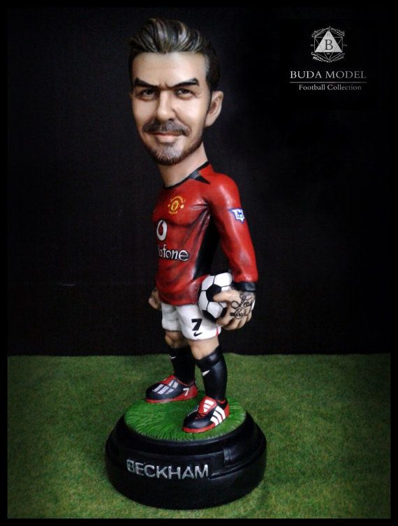 DAVID BECKHAM. RESIN. Figurine Statue. Limited by BUDAMODEL