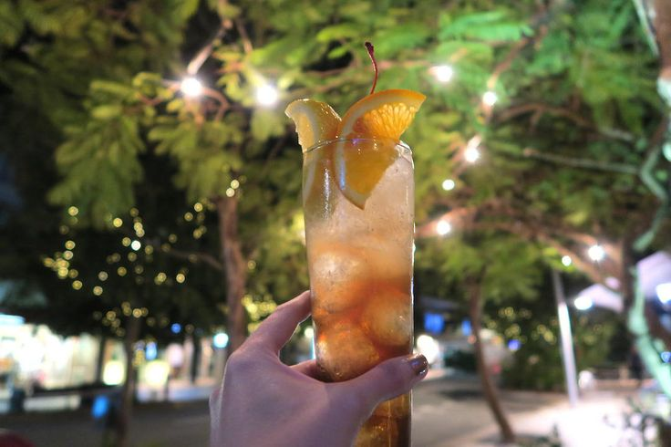 Cocktail at Miss Moneypennys, Noosa, Queensland | 9 of the best things to do in Noosa