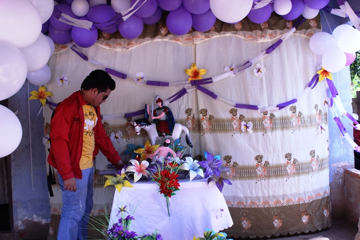 El dia de la fiesta en San Martín de Loba, El Salao