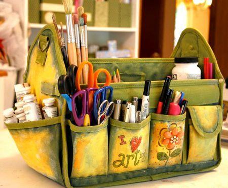 Have Art Bag... Will Travel by Karla Dornacher, http://karladornacher.typepad.com/karlas_korner/2010/03/have-art-bag-will-travel.html.