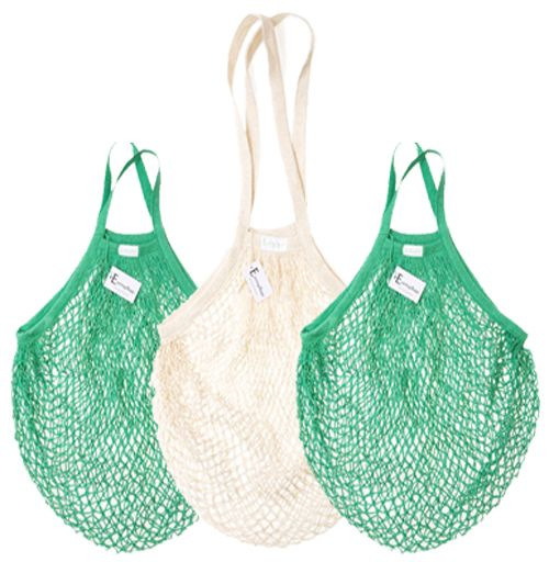 Biodegradable cotton shopping bags