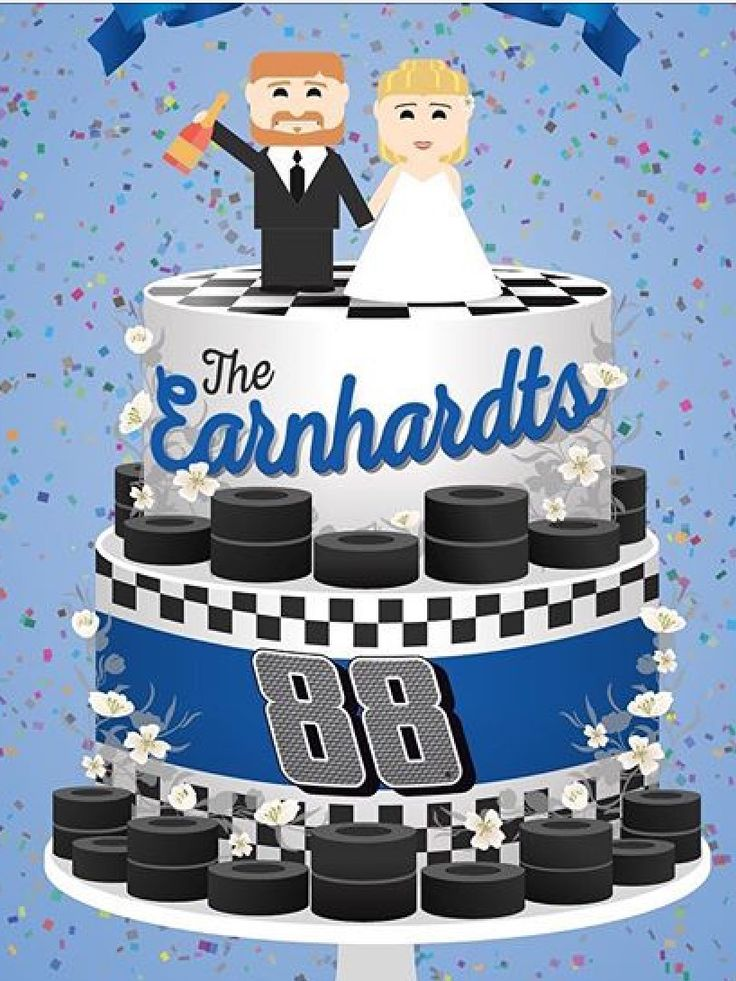 Congratulations to Dale jr. And Amy..  12-31-2016