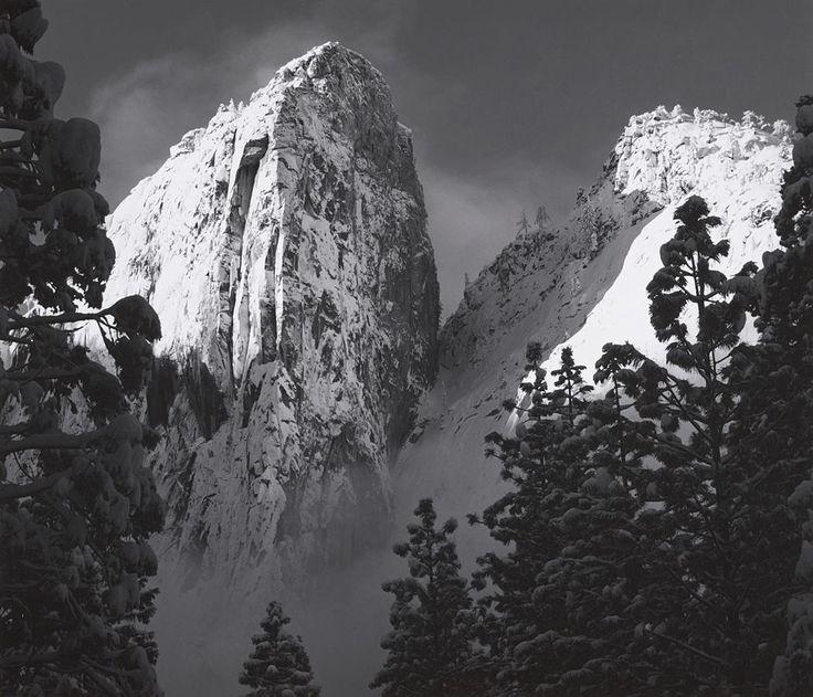 Cathedral Rocks, Yosemite National Park, 1950.