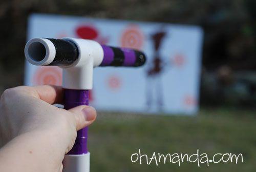 Mini Marshmallow Gun