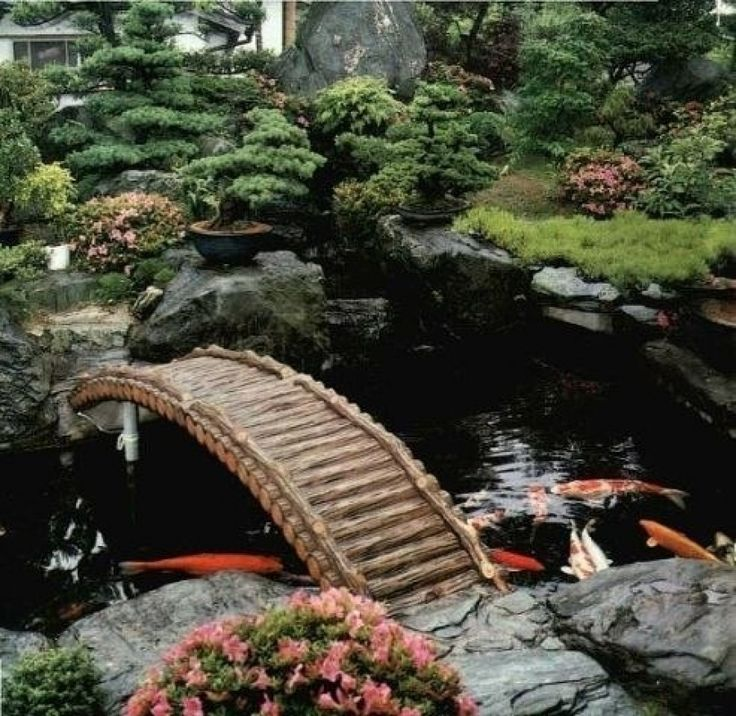 bridge garden design