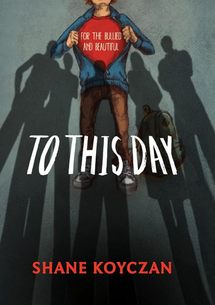 """""""To This Day - for the bullied and beautiful"""", by Shane Koyczan and various illustrators - '""""I'm not the only kid who grew up this way surrounded by people who used to say that rhyme about sticks and stones as if broken bones hurt more than the names we got called."""" From acclaimed spoken-word poet Shane Koyczan, the rallying cry against bullying that became a viral video viewed over 12-million times. A book to take solace in, featuring the work of 30 leading artists from around the world."""