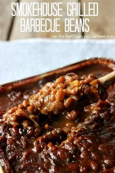 Smokehouse Grilled Barbecue Beans