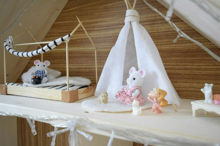 #sylvanian #diy #dollhouse #miniatures #sylvanianfamilies #mousehouse #room #kids #kidsroom #modern